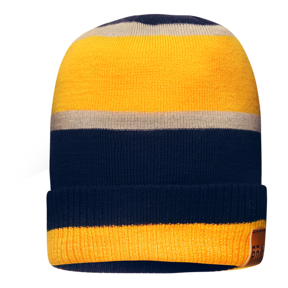 Wool Striped Beanie