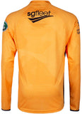 '20 Mens Training Shirt Orange Long Sleeve