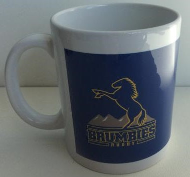 Coffee Mug Brumbies Logo