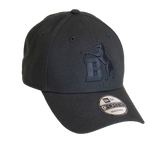 New Era 9Forty Black On Black