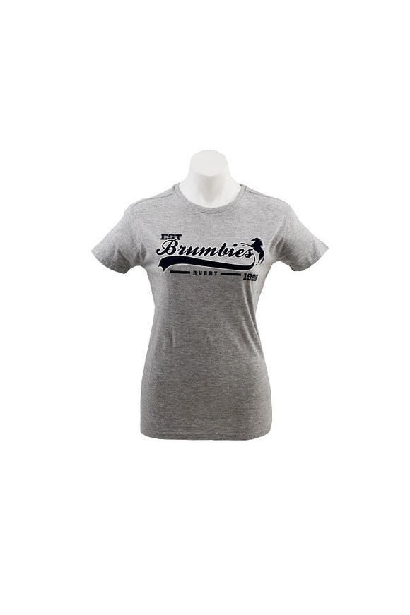 Ladies Supporter T-Shirt - Grey - 2015