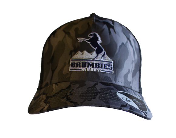 Grey Camo Trucker Cap