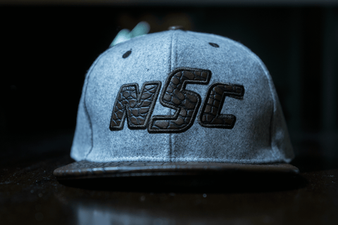 NSC Snapback Alligator Bill - Brown