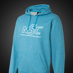 Logo Hoodie Heather Blue