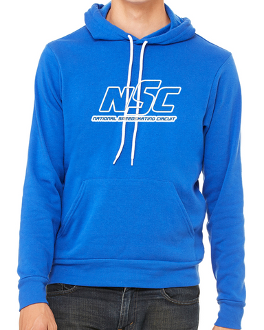 NSC Logo Outline Hoodie Blue