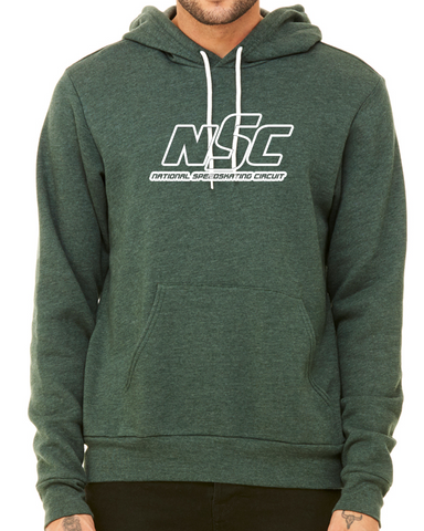NSC Logo Outline Hoodie Heather Green