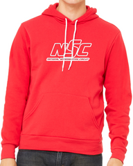 NSC Logo Outline Hoodie Red