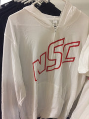 NSC outline hoodie Red
