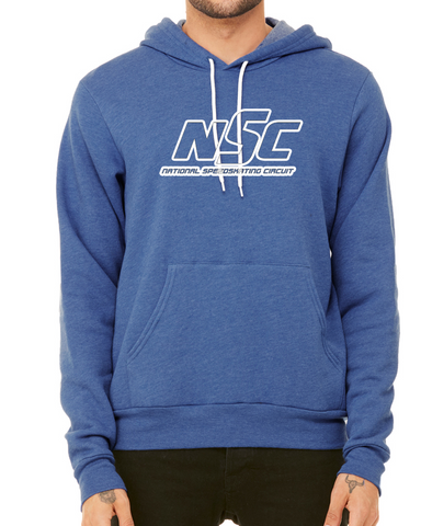 NSC Logo Outline Hoodie Heather Tru