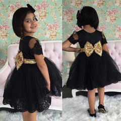 Black and Gold New Years Dress