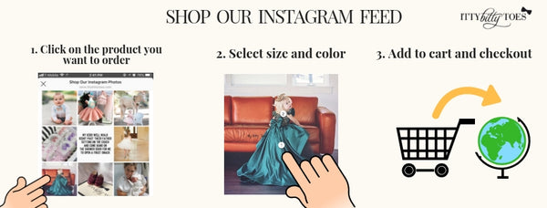 shop itty bitty toes instagram feed