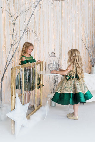 Couture Holiday Dresses for Girls - Itty Bitty Toes