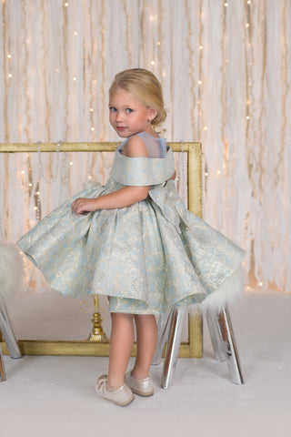Vintage Couture Girls Dress