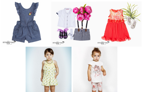 summer clothes for children at Itty Bitty Toes - Online Children's Boutique