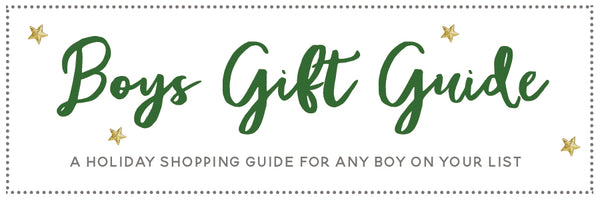 Itty Bitty Toes Boys Gift Guide