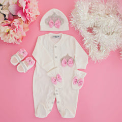 Pink Baby Take Home Set - Itty Bitty Toes www.ittybittytoes.com
