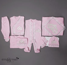 Pink Princess 10 Piece Newborn Set - Newborn Set - Itty Bitty Toes