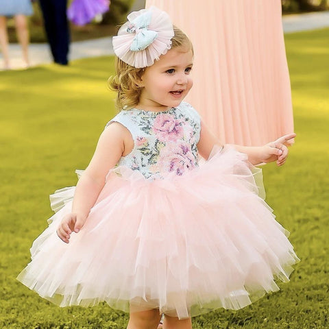 Flora Dress - Couture - Itty Bitty Toes