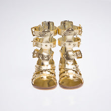 Gladiator Gold - Shoes - Itty Bitty Toes