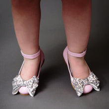 Alba 71 (Pink & Silver) - Shoes - Itty Bitty Toes