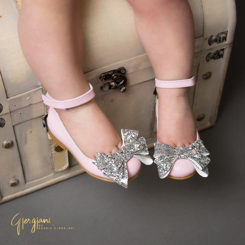 Alba 71 (Pink & Silver) - Itty Bitty Toes  - 2