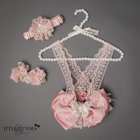 Lace Butterfly Set - Itty Bitty Toes  - 3