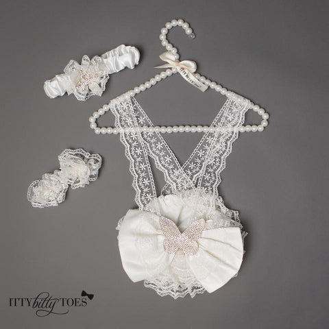 Lace Butterfly Set - Itty Bitty Toes  - 7