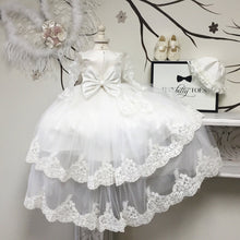 Briana Christening Gown - Couture - Itty Bitty Toes