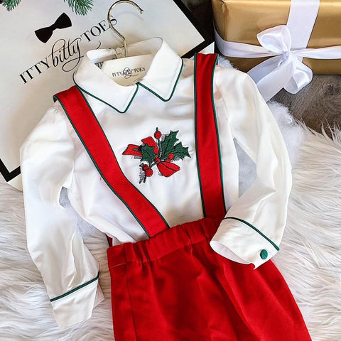 Holiday Suspenders Set
