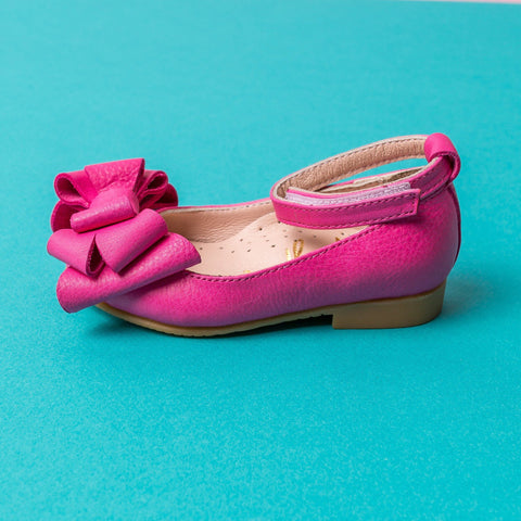 Alba 81 (Fuchsia) - Shoes - Itty Bitty Toes