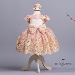 Alexa Dress (Blush)