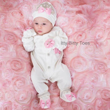 Crown Jewels Set (Pink) - Newborn Set - Itty Bitty Toes
