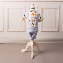 Up and Away Airplane Suspender Set - Couture - Itty Bitty Toes