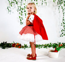 Red Riding Hood Dress - Couture - Itty Bitty Toes
