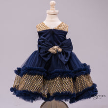 Catherine Dress (Navy)