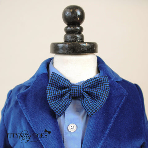 Charles Suit (Blue) - Itty Bitty Toes  - 4