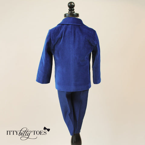 Charles Suit (Blue) - Itty Bitty Toes  - 5