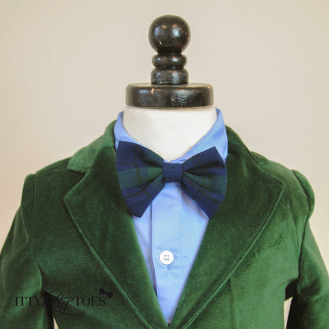 Charles Suit (Green) - Itty Bitty Toes  - 4