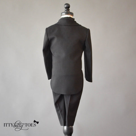 Charles Suit (Black) - Itty Bitty Toes  - 7