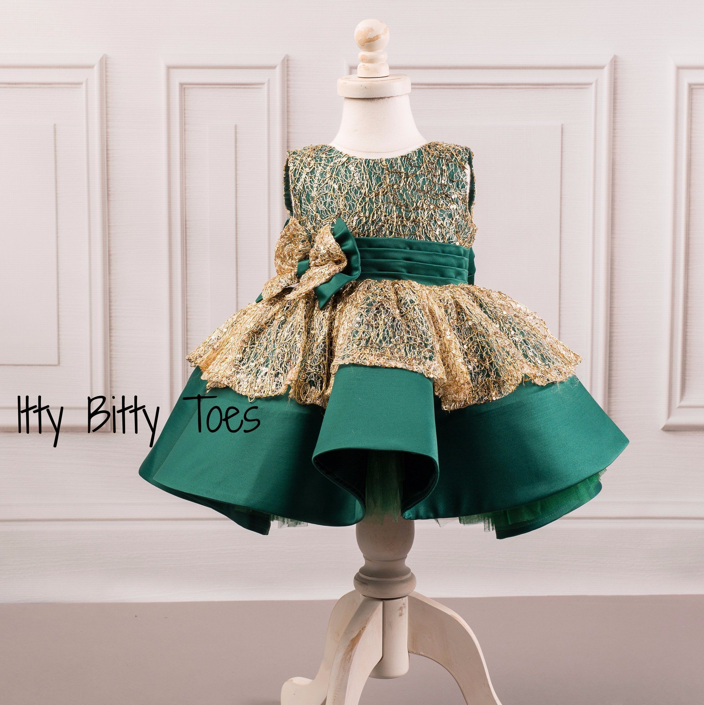 Charlotte Dress - Couture - Itty Bitty Toes