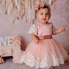 Princess Julia Dress (Rose Gold)