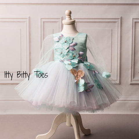 Ana Dress - Couture - Itty Bitty Toes