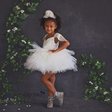 Snow Dress (Silver) - Couture - Itty Bitty Toes