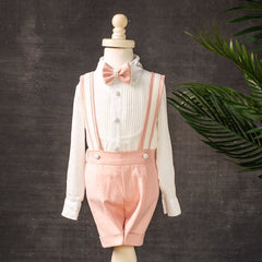 Charlie Shorts Set (Blush)