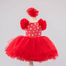 Leslie Dress Red