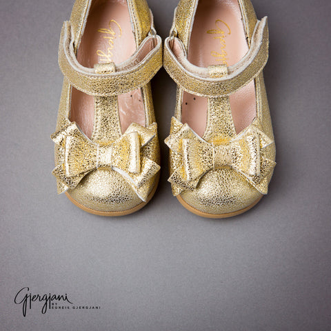 Gjergjani G11-02 Gold - Shoes - Itty Bitty Toes