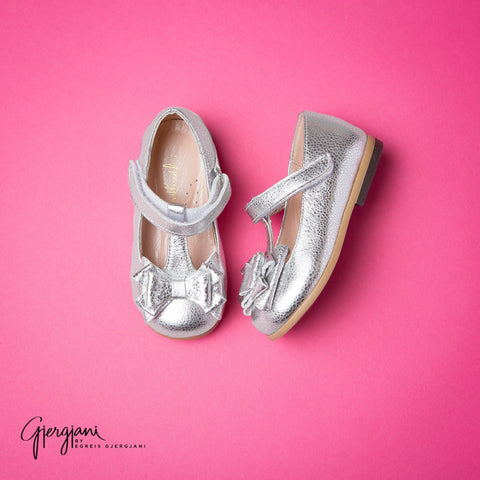 Gjergjani G11-03 Silver - Shoes - Itty Bitty Toes