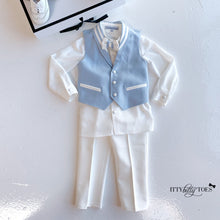 Giovanni Vest Set (Baby Blue)
