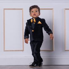Alex Suit (Velvet Black) - Couture - Itty Bitty Toes