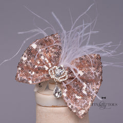 Princess Aisha Rose Gold Headpiece